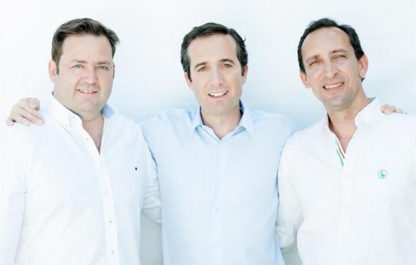 Los tres fundadores de Mitula.