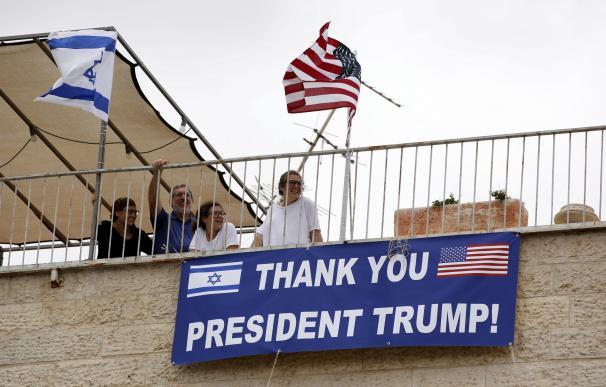 Trump cumple la promesa con Israel y lleva su embajada a Jerusalén