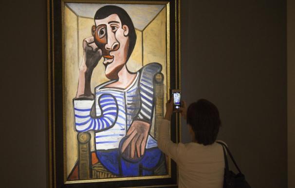 Fotografía de la obra 'Le Marin' de Picasso.