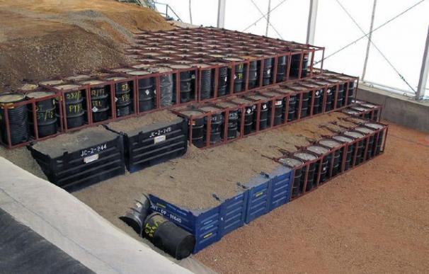 Residuos nucleares en el almacén de El Cabril (Córdoba).