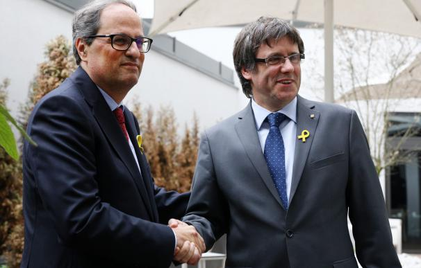 Torra y Puigdemont