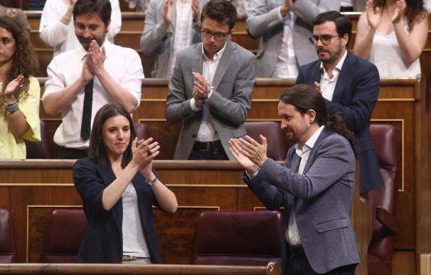 """Montero (Podemos) pide """"no dar trascendencia"""" a la cena de Iglesias y Junqueras, centrada en la situación política"""