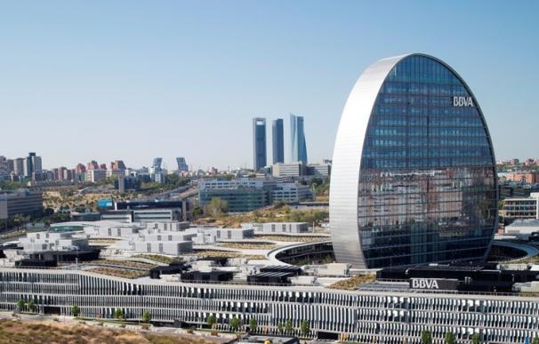 Vista aérea de la Ciudad BBVA