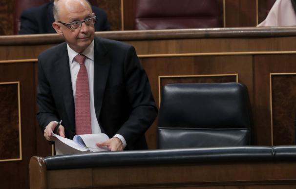 Fotografía Cristóbal Montoro, ministro de Hacienda