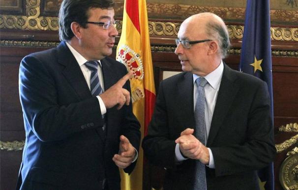 Guillermo Fernández Vara y Montoro reunidos en Madrid.