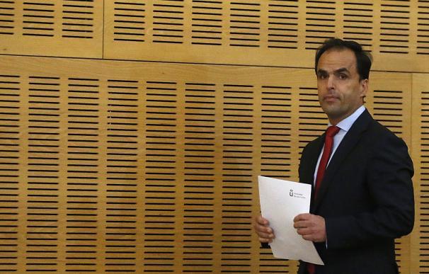 Imagen del rector de la Universidad Rey Juan Carlos, Javier Ramos.