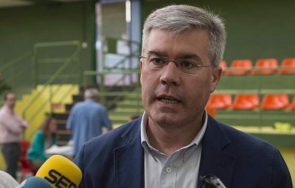Fernández Moya, durante una comparecencia en el Congreso.