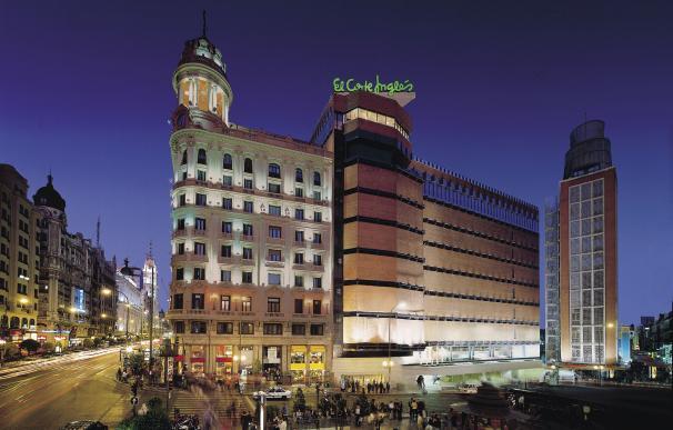 Imagen del exterior del centro de El Corte Inglés en Callao (Madrid).