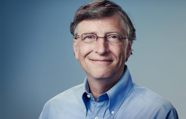 Fotografía de Bill Gates.