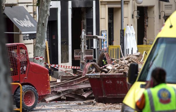 Derrumbe edificio Madrid