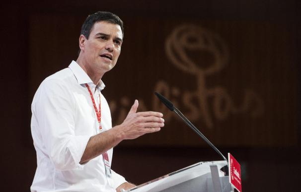 Fotografía Pedro Sánchez, secretario general del PSOE
