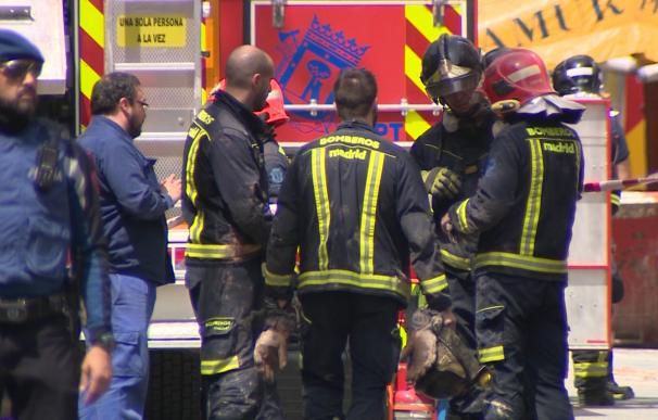 Hallada la segunda víctima mortal del derrumbe de Chamberí