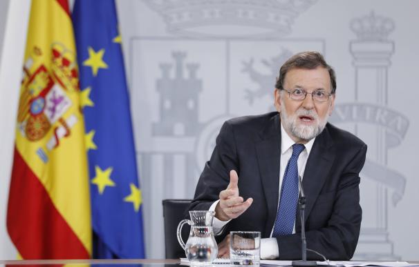 Rajoy enfadado