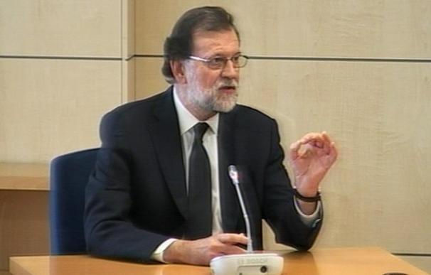 El tribunal rechaza el careo entre Bárcenas y Rajoy, solicitado por la acusación popular Adade