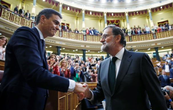 Perdo Sánchez y Mariano Rajoy