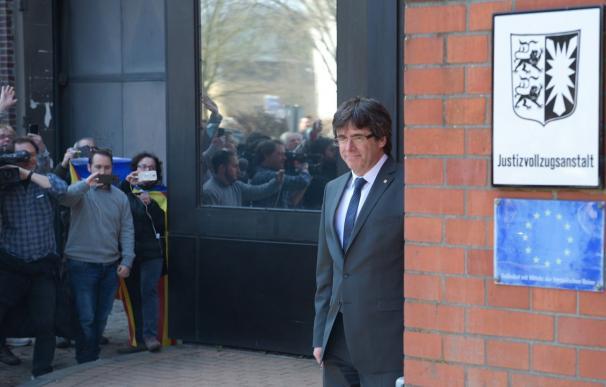 Puigdemont durante su estancia en Berlín./ EFE