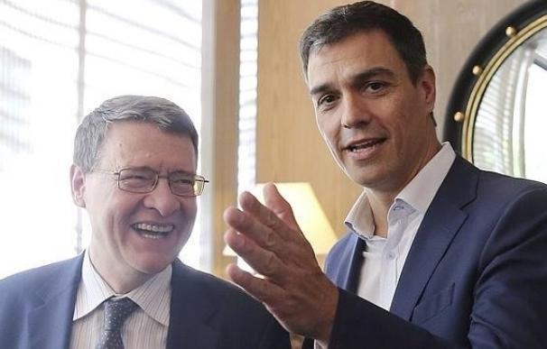 Jordi Sevilla y Pedro Sánchez