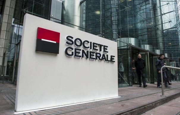 El beneficio neto de Societé Génerale cayó un 13,3 por ciento en el primer trimestre