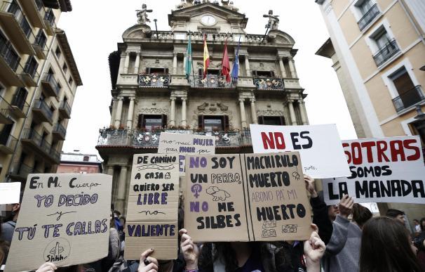 Manifestación contra La Manada