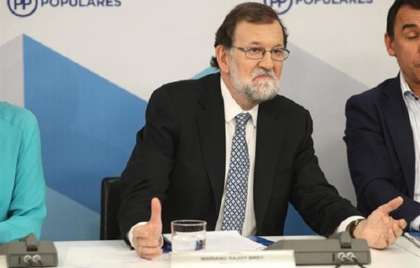 Rajoy anuncia que deja la presidencia del Partido Popular
