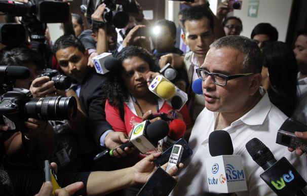 Fotografía de archivo fechada el 3 de febrero de 2016 que muestra al expresidente salvadoreño Mauricio Funes (EFE/Oscar Rivera)