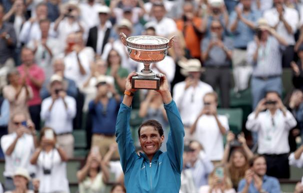 Rafael Nadal, sobrehumano, gana su undécimo Roland Garros