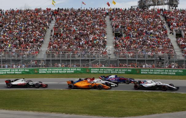Alonso abandona en Montreal otra vez