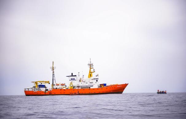El barco Aquarius de la ONG francesa SOS Méditerranée en una foto de archivo