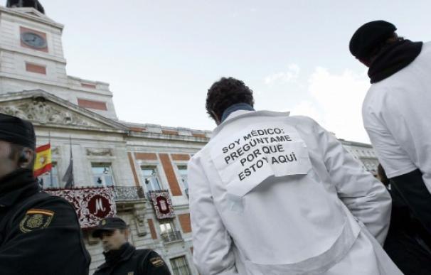 Protestas Médicos