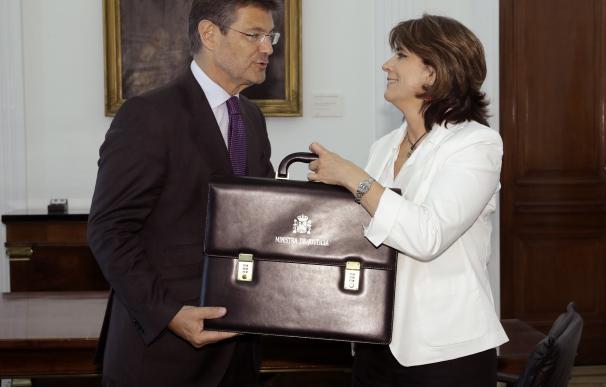 Dolores Delgado y Rafael Catalá