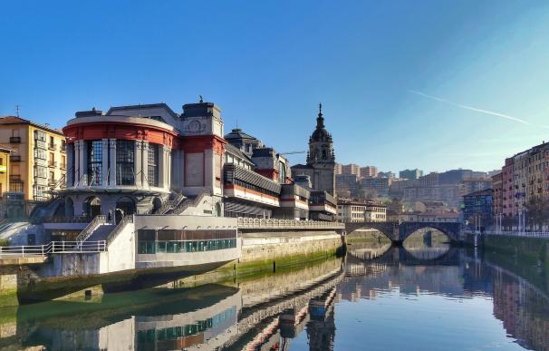Imagen de la bella Bilbao.