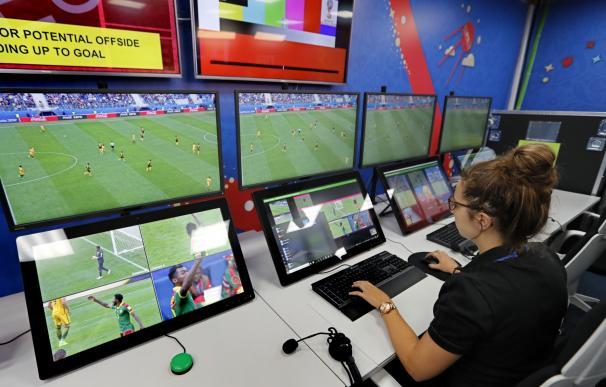 El VAR pita penalti en el Francia-Australia
