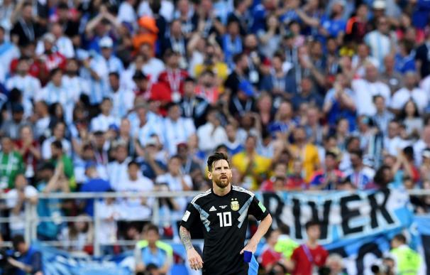 Messi no supera la maldición con la albiceleste