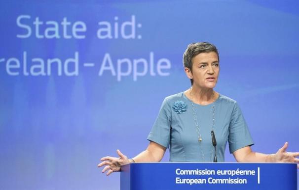 La comisaria europea de Competencia, Margrethe Vestager | Efe