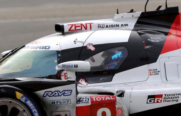 Fernando Alonso al volante del Toyota TS050 Hybrid durante las 24 Horas de Le Mans (EFE / EPA / EDDY LEMAISTRE)