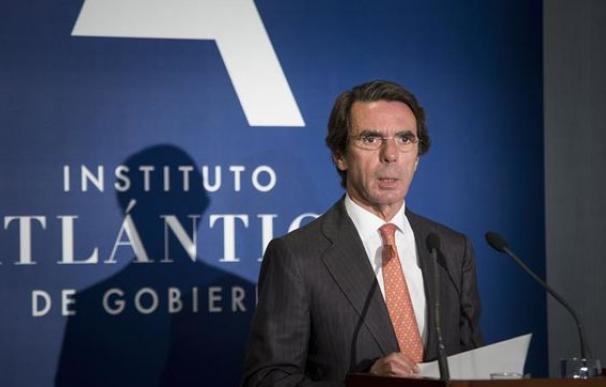 Imagen del expresidente del Gobierno José María Aznar.