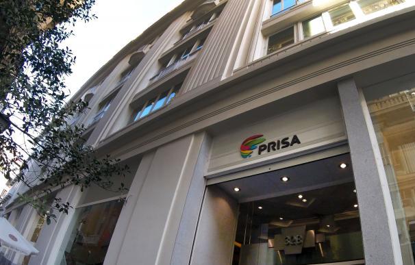 Imagen de la sede de Prisa en la madrileña Gran Vía.