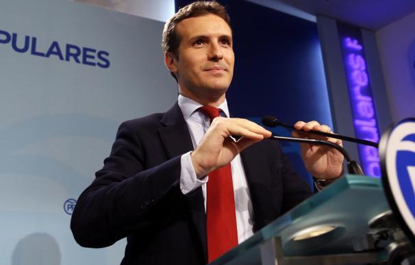 Casado anuncia su candidatura a presidir el PP
