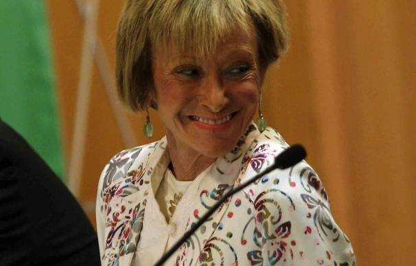 El IAM otorga un reconocimiento a María Teresa Fernández de la Vega en la edición 2012 de los Premios Meridiana