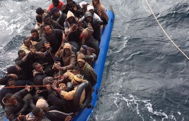La llegada de migrantes se duplicó y hasta 3.116 murieron intentándolo