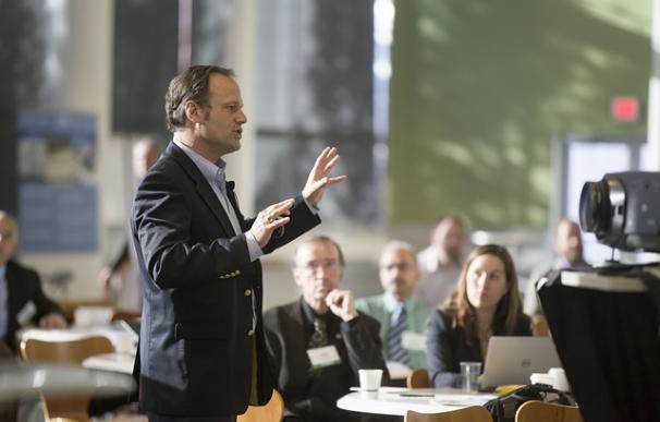 Hacer buenas presentaciones es fundamental para triunfar en el trabajo. / Pixabay