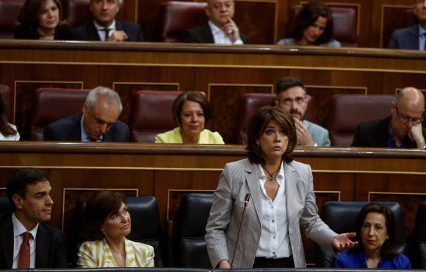 Dolores Delgado, ministra de Justicia. /EFE