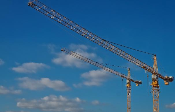 Fotografía construcción, grúa