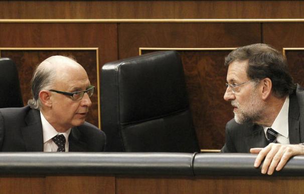 Fotografía Montoro y Rajoy