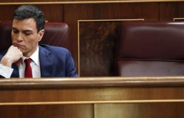 Pedro Sánchez, pensativo.