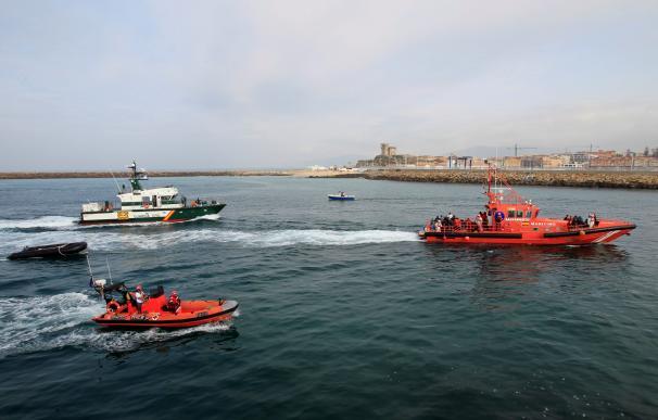 Inmigrantes llegando a las costas españolas