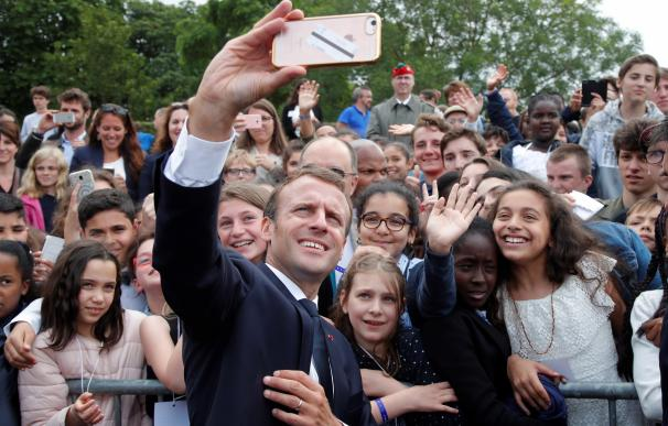 Macron celebra La Marsellesa