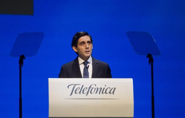 Álvarez Pallete, Telefónica, junta 2018, accionistas