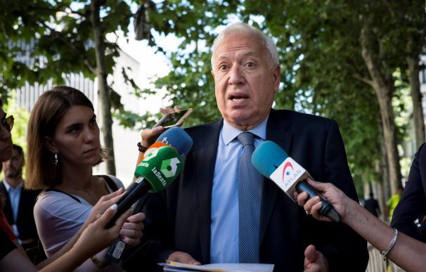Margallo ha calificado de ridículo el censo de participación. /EFE