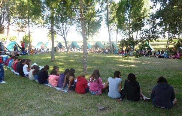 Arranca en Aranda (Burgos) la XXX edición del Campamento de Verano de los Hermanos Grabielistas